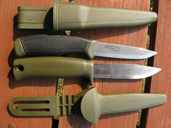Clipper and Craftsman Mora Knifes Blade