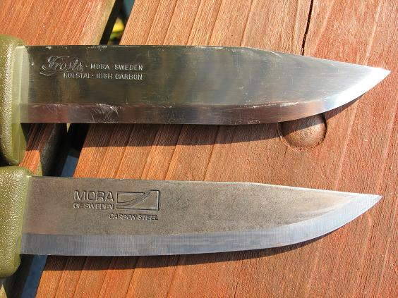 Clipper and Craftsman Mora Knife Blades